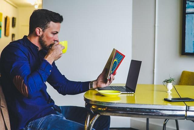 employee enjoying mental health break as part of unique employee benefits