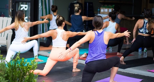 company having employees engage in workplace wellness programs